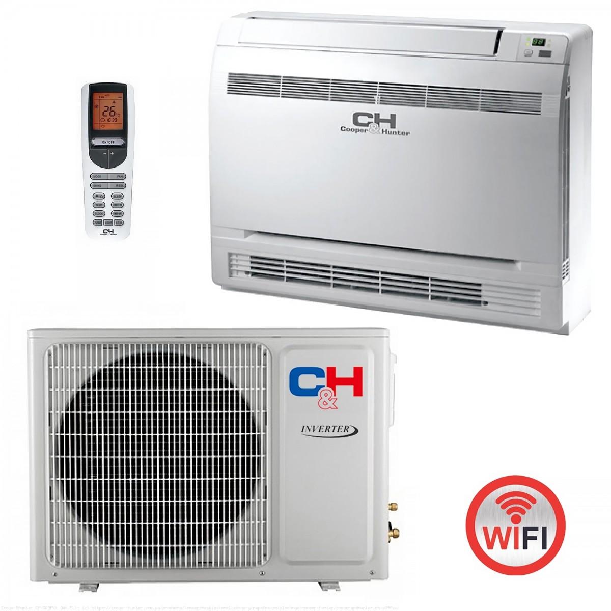 Консольный (напольный) кондиционер Cooper&Hunter CH-S18FVX (Wi-Fi)