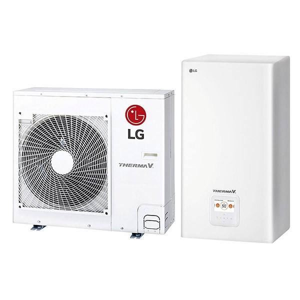 Тепловой насос LG Therma V HU091.U43 + HN1616 NK3 однофазный